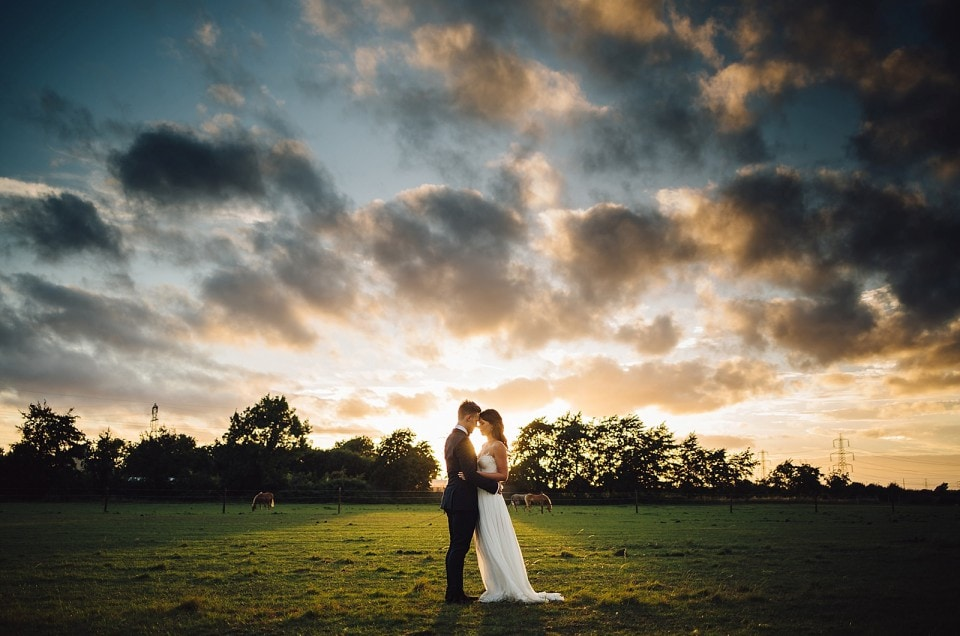 Garden DIY Wedding Photography - Lisa & James