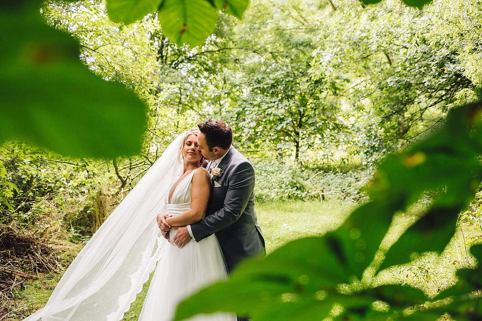 Woodland Wedding Photography: Hothorpe Hall Woodlands Wedding Photography
