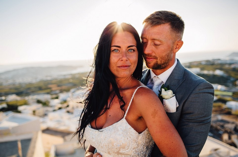 Santorini Gem Wedding Photography - Leanne & James