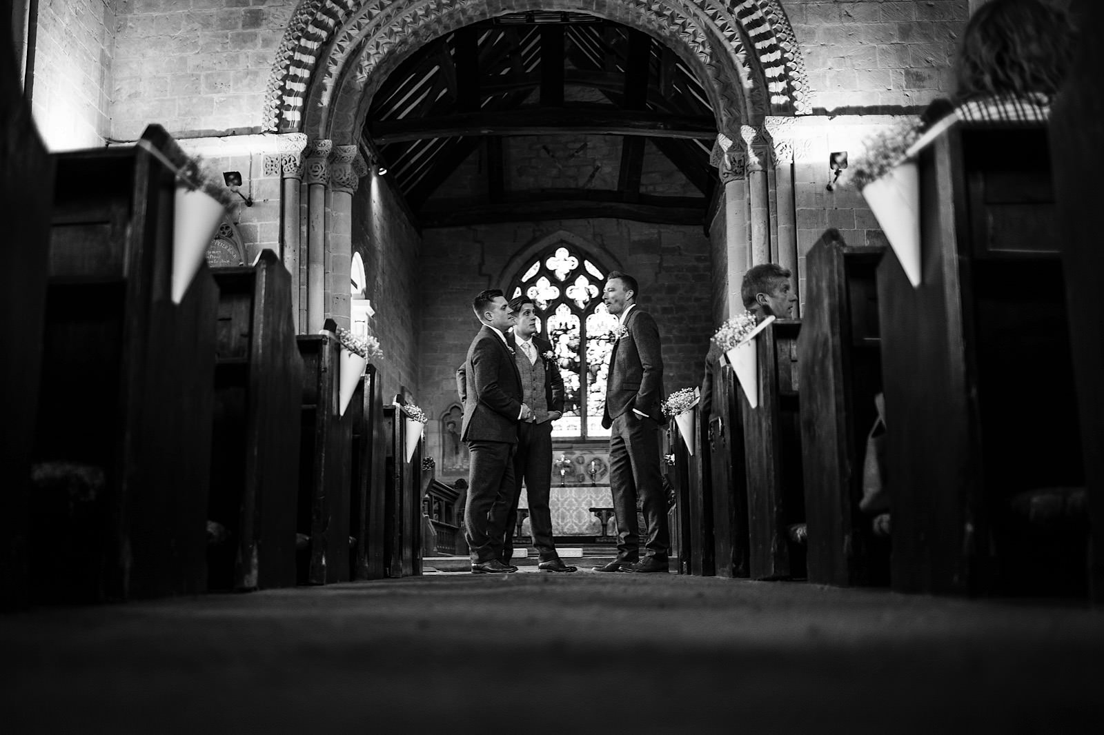 Rock village hall wedding photography 0027