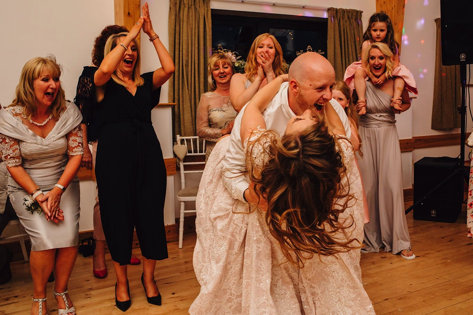 Rock village hall wedding photography 0130
