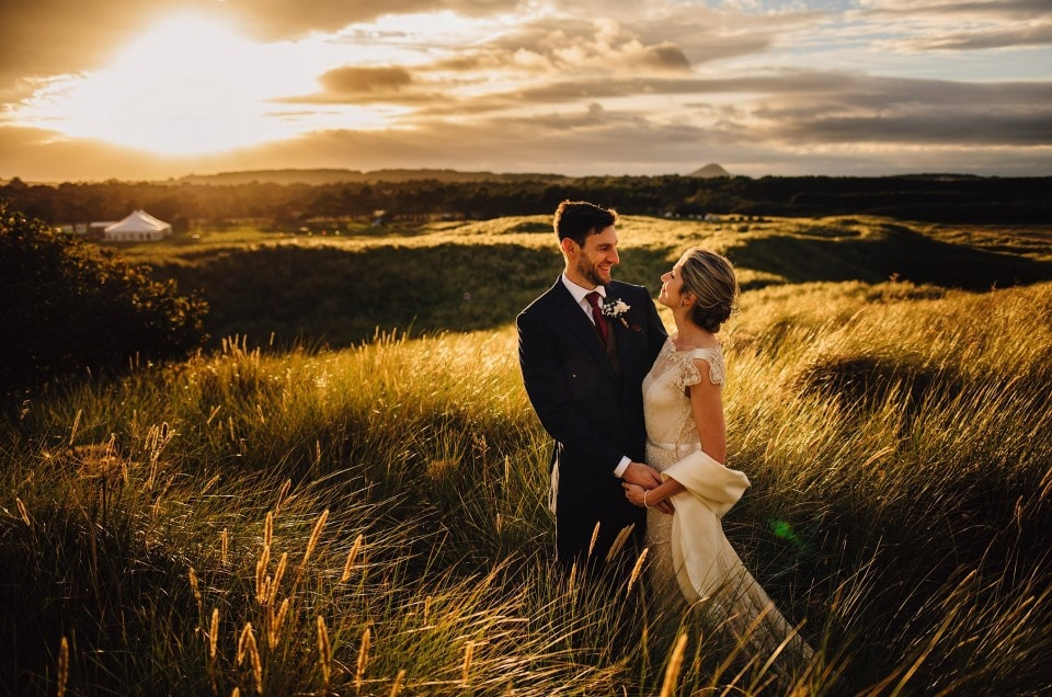 Harvest Moon Dunbar Wedding Photography - Poppy & Steve