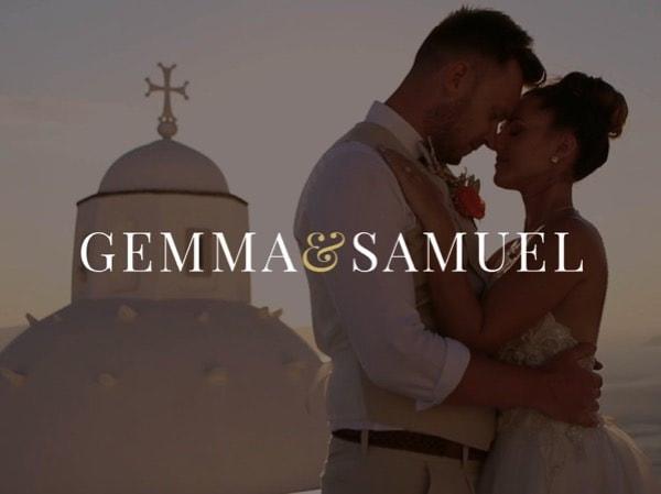 Gemma & Samuel